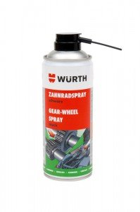 SPRAY DO KÓŁ ZĘBATYCH 400 ml Wurth